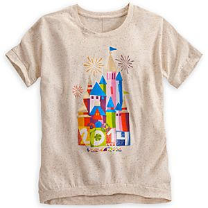 Disney Parks Castle Tee for Women - 2014 - Limited Time Magic