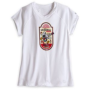 Mickey Mouse Wine & Dine Logo Tee for Women