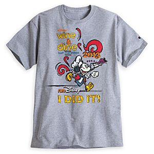 Mickey Mouse Wine & Dine Tee for Men - RunDisney