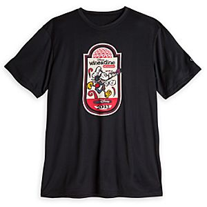 Mickey Mouse Wine & Dine Logo Tee for Men
