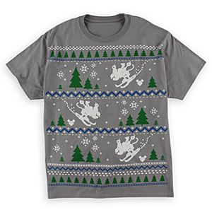 Mickey Mouse Fair Isle Tee for Adults - Gray