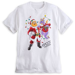 Figment and Dreamfinder Holiday Tee for Adults - Epcot - Limited Availability