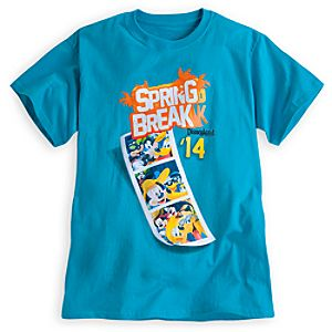 Mickey Mouse and Friends Tee for Adults - Spring Break 2014 - Disneyland
