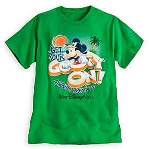 Mickey Mouse as Goofy Tee for Adults - Spring Break 2014 - Walt Disney World