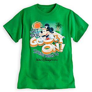 Mickey Mouse as Goofy Tee for Adults - Spring Break 2014 - Walt Disney World