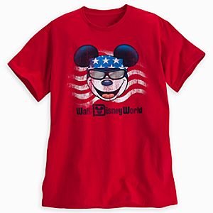 Mickey Mouse Americana Tee for Adults - Walt Disney World