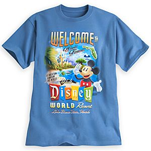 Mickey Mouse Tee for Adults - Walt Disney World
