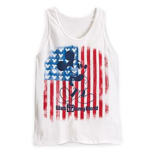 Mickey Mouse Americana Tank Tee for Adults - Walt Disney World