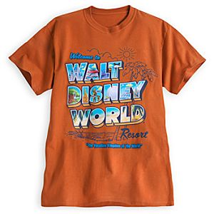 Walt Disney World Postcard Tee for Adults