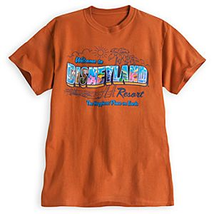 Disneyland Postcard Tee for Adults