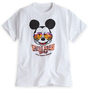 Mickey Mouse Tee for Adults - Spring Break 2014 - Walt Disney World