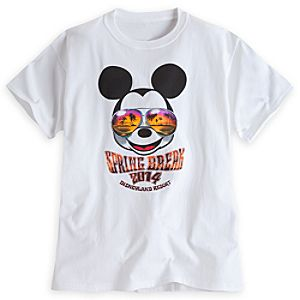 Mickey Mouse Tee for Adults - Spring Break 2014 - Disneyland