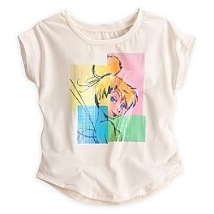 Tinker Bell Fashion Tee for Women