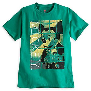 Mickey Mouse Pop Art Tee for Adults - Disney Parks