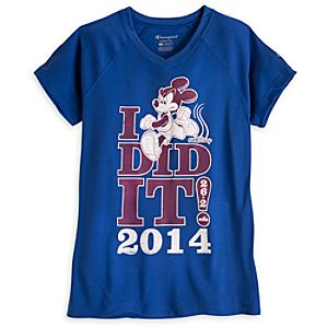 Mickey Mouse Performance Tee for Women - RunDisney 2014 - Limited Availability