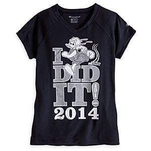 Donald Duck Performance Tee for Women - RunDisney 2014 - Limited Availability