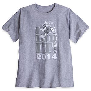 Donald Duck Tee for Men - RunDisney 2014 - Limited Availability
