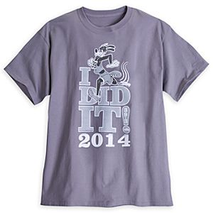 Goofy Tee for Men - RunDisney 2014 - Limited Availability