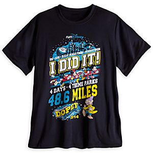 Dopey Performance Tee for Men - RunDisney 2014 - Limited Availability