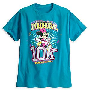 Minnie Mouse Tee for Adults - RunDisney 2014 - Limited Availability