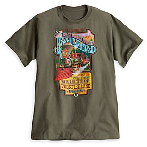 Walt Disney World Railroad Tee for Adults - Limited Availability