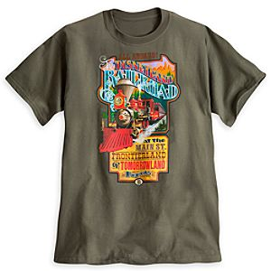 Disneyland Railroad Tee for Adults - Limited Availability