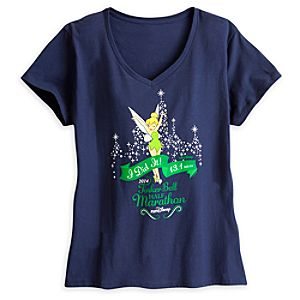 Tinker Bell Tee for Women - RunDisney 2014 - Limited Availability