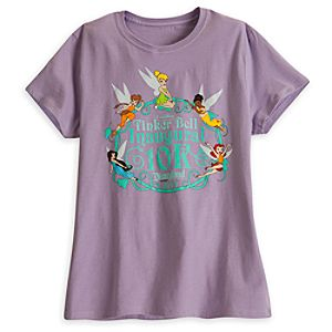 Tinker Bell 10K Tee for Women - RunDisney 2014 - Limited Availability