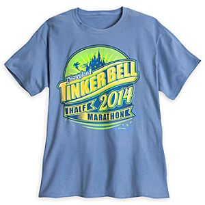 Tinker Bell Half Marathon Tee for Adults - RunDisney 2014 - Limited Availability