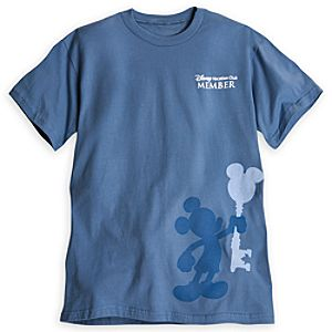 Disney Vacation Club Member Mickey Tee for Adults