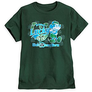 Mickey Mouse St. Patricks Day Tee for Women - Walt Disney World - Limited Availability