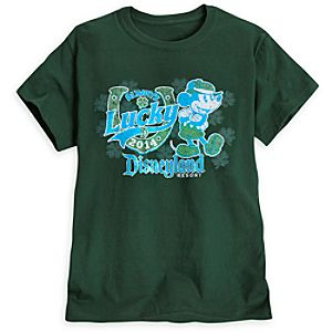 Mickey Mouse St. Patricks Day Tee for Women - Disneyland - Limited Availability