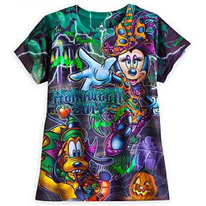 Minnie Mouse and Friends Tee for Women - Halloween 2014