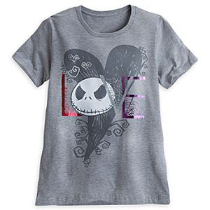 Jack Skellington Love Tee for Women