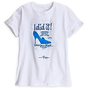 Disney Glass Slipper Challenge Tee for Adults - RunDisney 2014 - Limited Availability