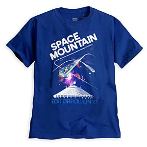 Space Mountain Attraction Poster Tee - Disneyland - Limited Availability