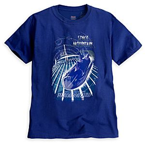 Space Mountain Attraction Poster Tee - Walt Disney World - Limited Availability