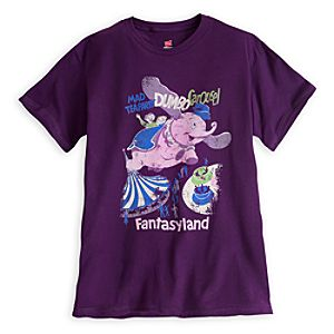 Dumbo - Fantasyland Attraction Poster Tee - Disneyland - Limited Availability
