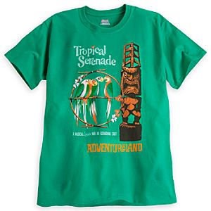 Tropical Serenade Attraction Poster Tee - Walt Disney World - Limited Availability