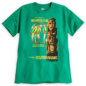 Enchanted Tiki Room Attraction Poster Tee - Disneyland - Limited Availability