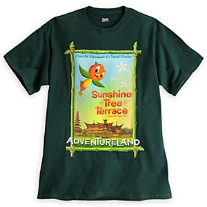 Orange Bird - Sunshine Tree Terrace Attraction Poster Tee - Walt Disney World - Limited Availability