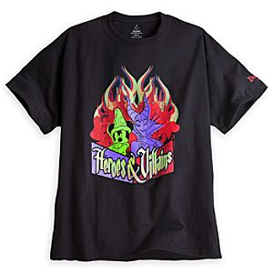 Disney Heroes and Villains Tee for Adults - Disneyland - Limited Availability