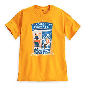 Carousel of Progress Attraction Poster Tee for Adults - 50th Anniversary - Limited Availability