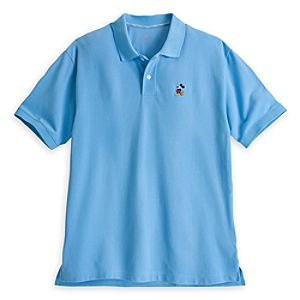 Mickey Mouse Polo for Men - Light Blue