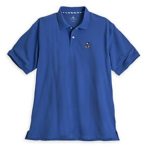 Mickey Mouse Polo for Men - Periwinkle
