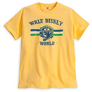 Mickey Mouse Soccer Tee - Walt Disney World - Yellow