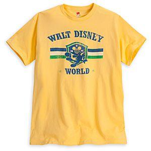 Mickey Mouse Soccer Tee - Walt Disney World - Yellow