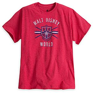 Mickey Mouse Soccer Tee - Walt Disney World - Red