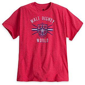 Mickey Mouse Soccer Tee - Walt Disney World - Red