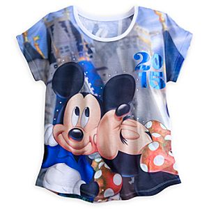Minnie Mouse and Friends Sublimated Art Tee for Women - Walt Disney World 2015